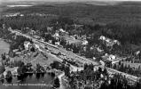 113Flygfoto över Svartå Stationsamhälle
