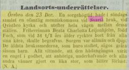 Aftonbladet 1857