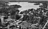 Flygfoto över Svartå centrum  3 a