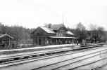 Sandmark Svartå Station  ca 1924