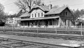 Svartå Station före rivningen ca 1977