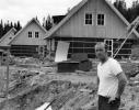Svartå  Evert Karlsson vid älgstigen? år 74-76