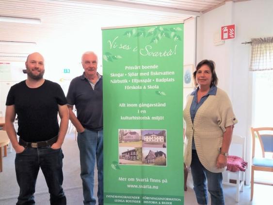 Christiaan Haneveld, Stefan Fejes & Carina Sätterman