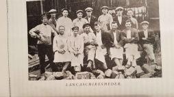 Bilden tagen i början på 1920-talet vid Svartå bruk