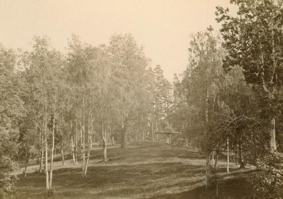 Soltältet   Fotograf Bernhard Hakelier 1848-1910