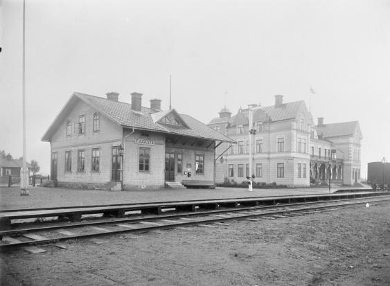 Foto Eric Sjöqvist ca 1900  källa Järnvägsmuseet