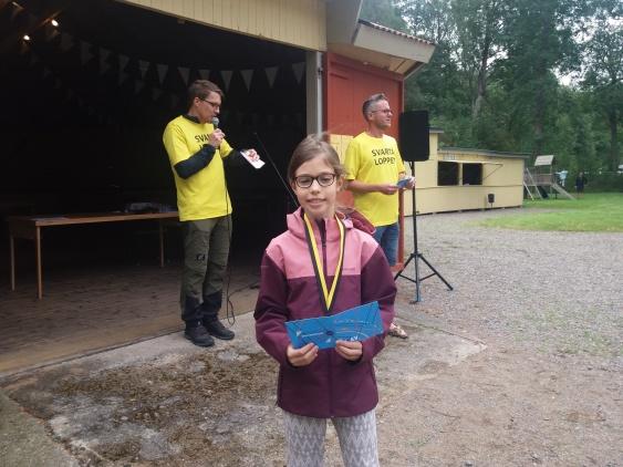 Liv Carlsson Jeifetz Hammarby Friidrott snabbaste flicka på tiden 13:14