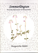 """Boken """"Sommarlängtan Botaniska illustrationer & blomstermåleri"""
