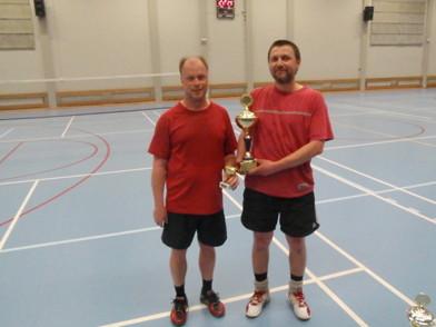 Kenth och Nicklas vann dubbeln