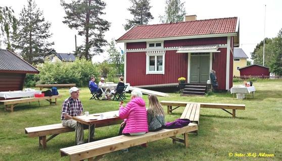 29 juni 2016. Det är öppet hus på Stålarmstorpet i Nyborg.