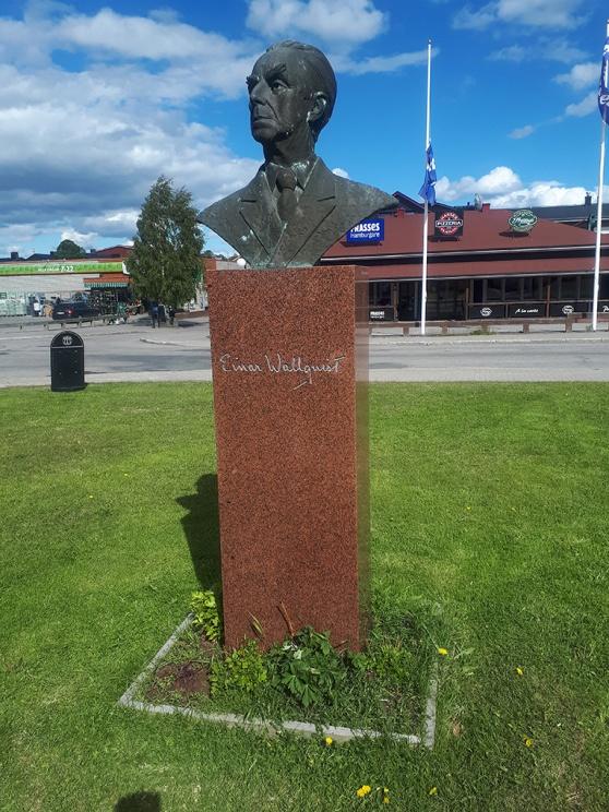 Grundaren av Silvermuseet, Ejnar Wallqvist