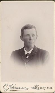 Otto Nordgren 1871-1965. Ur B-G Nilssons bildsamling.