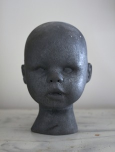 Raku Doll svart, Lisa Hammar Posse - Raku Doll svart, Lisa Hammar Posse