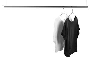 Klädhängare, Domo Design - Svart Small