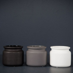 Krukor Pure, DBKD - Kruka Pure svart mini