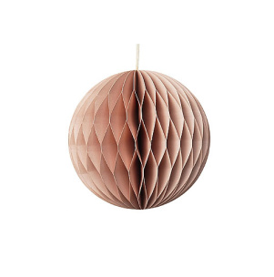 Papperskulor, Borste Copenhagen - Dusty Pink Boll