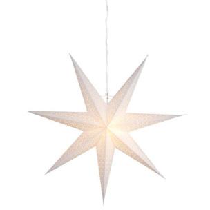 Pappersstjärna Dot vit, Star Trading - Dot 70 cm