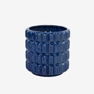 Kruka Fashion Deep Blue, ISADECO - Fashion Deep Blue Small