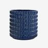 Kruka Fashion Deep Blue, ISADECO - Fashion Deep Blue Large