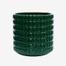Kruka Fashion Palm Green, ISADECO - Fashion Palm Green Large