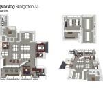 Inredningsförslag Planlösning, möblering