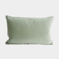 Kudde Lush Velour Dusty Green, Semibasic