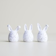 Triplets Rabbit white dot, DBKD