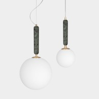 Pendel Torrano Grön 2 storlekar, Globen Lighting