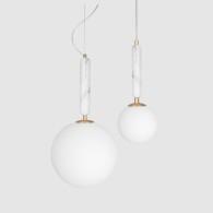 Pendel Torrano Vit 2 storlekar, Globen Lighting