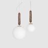 Pendel Torrano Brun 2 storlekar, Globen Lighting
