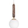 Pendel Torrano Brun 2 storlekar, Globen Lighting - PENDEL TORRANO 15 BRUN