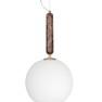 Pendel Torrano Brun 2 storlekar, Globen Lighting - [PENDEL TORRANO 30 BRUN
