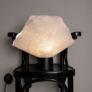 Tropez Natur Bordslampa, Globen