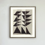 Poster Triangle no 2, Hein Studio
