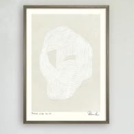 Poster Round line no 8, Hein Studio