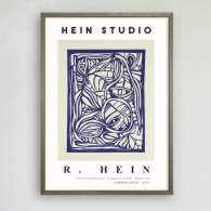Poster Wonderland no 2, Hein Studio