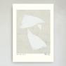 Poster White leaf no 3, Hein Studio - White leaf no 3