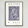 Poster Wonderland no 2, Hein Studio