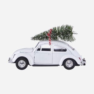 Dekoration Xmas Car Vit, House Doctor -