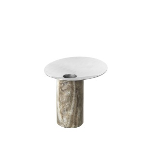 Ljusstake Siggie marble, Broste -
