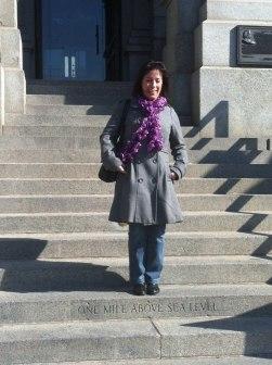 """Vår höjdar-dirigent Mari är """"Mile High"""" i Denver"""