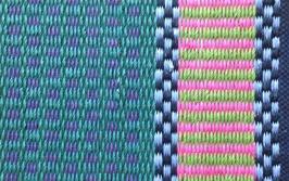 Inslagsrips färgat pappersgarn