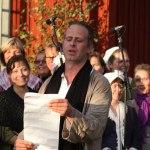 Mats Hammarlöf som Bellmans agent. Foto: Mats Anderling
