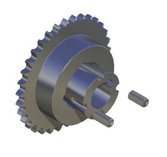 Kedjehjul Taper-Lock