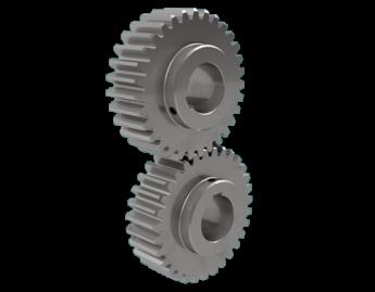 Cylindriska kugghjul