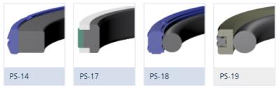 Kompakttätningar PS-14, PS-17, PS-18, PS-19