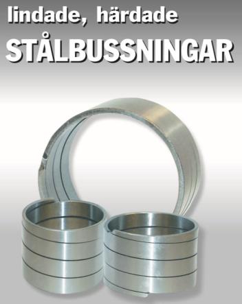 Lindad härdad stålbussning