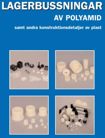 Lagerbussningar av polyamid