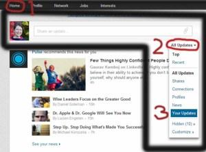 Proffsig LinkedIn-profil