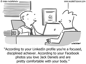 Investera tid i att se till att du förmedlar en enhetlig bild av dig.